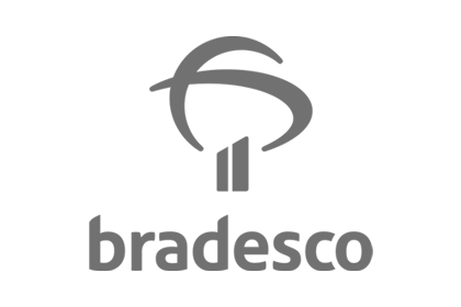 Logotipo do cliente iguale digital: Bradesco